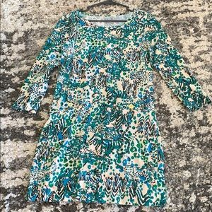 Lilly Pulitzer Pima cotton safari dress M